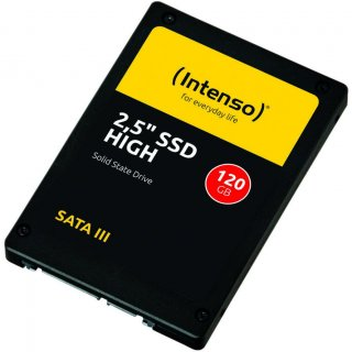"Intenso 6.3cm (2,5"") 120GB SSD SATA3 High Performance retail"